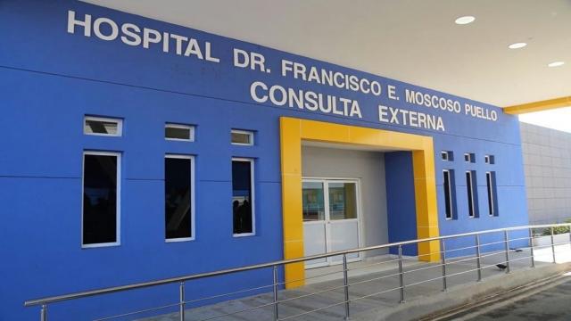 Resultado de imagen para hospital francisco moscoso puello